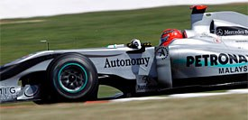 Mercedes рассчитывает на прогресс в 2011 году