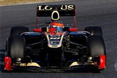 Lotus досрочно завершила тесты в Барселоне