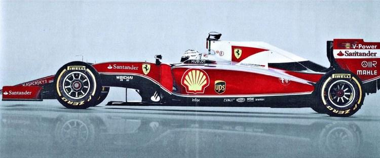 Ferrari 2016 года